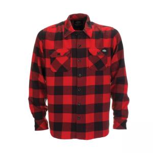 Dickies Frauen Hemd - Sacramento Rot