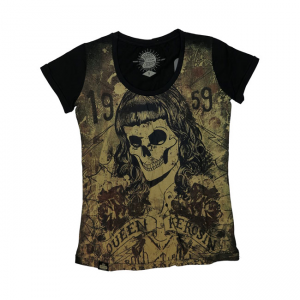 Queen Kerosin T-Shirt - Skull Girl 59