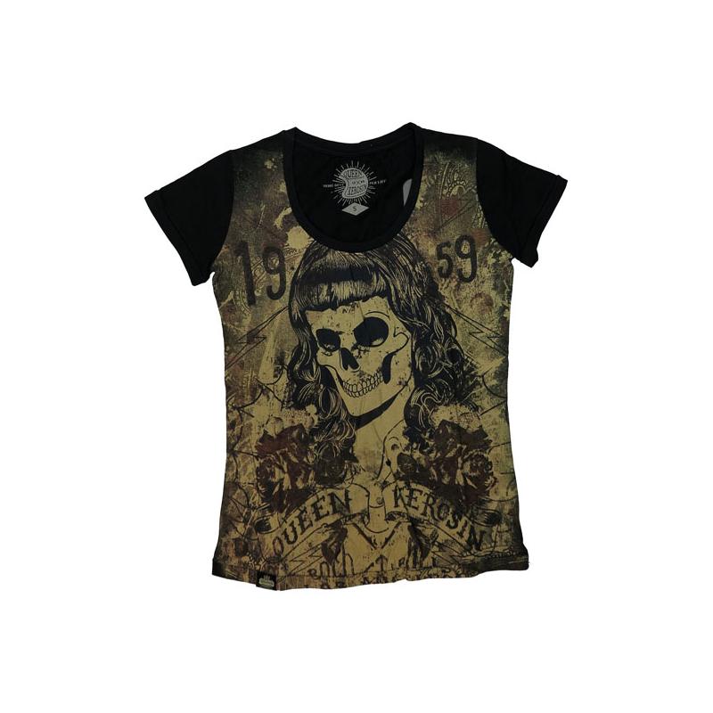 Queen Kerosin T-Shirt - Skull Girl 59