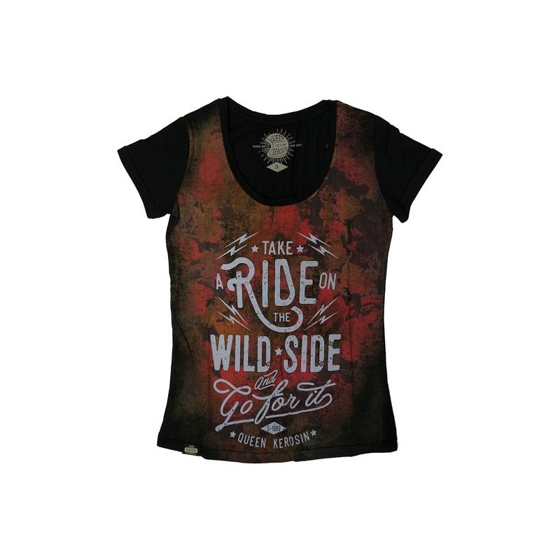 Queen Kerosin T-Shirt - Wild Side