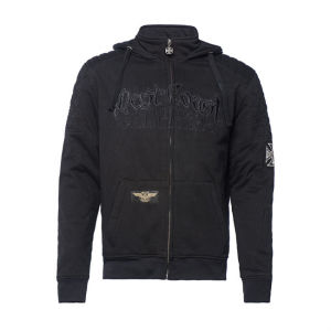 West Coast Choppers Riding Zip Hoodie - Por Vida Schwarz