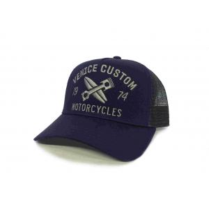 Rokker Cap - Venice Custom Trukker Blau