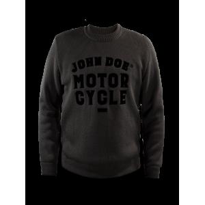 John Doe Pullover - Big Logo Grau