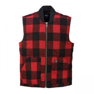 Dickies Vest - Martinsburg Red