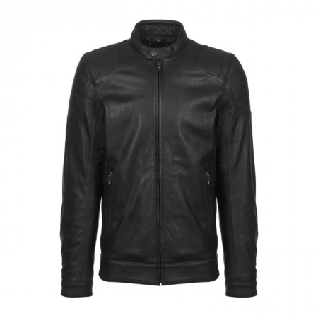 John Doe Leather Jacket - Roadster Black