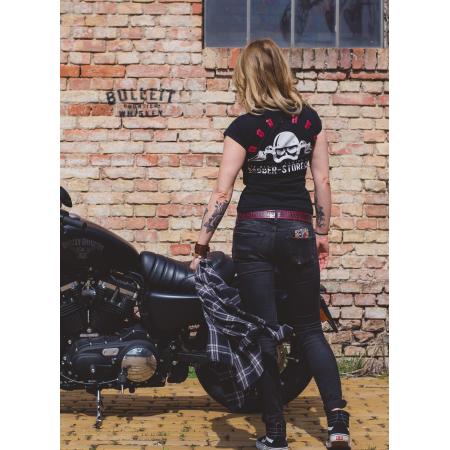 bob.ber Frauen T-Shirt - Logo Schwarz