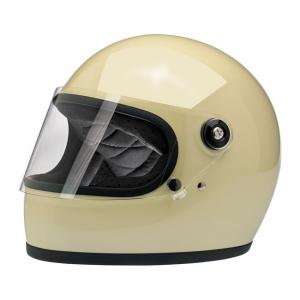 Biltwell Helmet Gringo S - Gloss Vintage White ECE