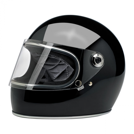 Biltwell Helmet Gringo S - Gloss Black ECE