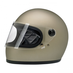Biltwell Helmet Gringo S - Flat Titanium ECE