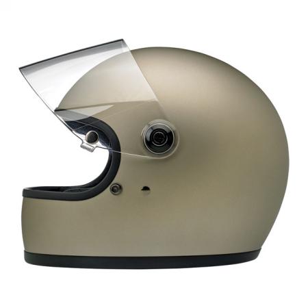 Biltwell Helm Gringo S - Matt Titanium ECE