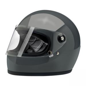 Biltwell Helmet Gringo S - Gloss Storm Grey ECE