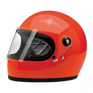 Biltwell Helm Gringo S - Glanz Hazard Orange ECE