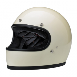 Biltwell Helmet Gringo - Gloss Vintage White ECE