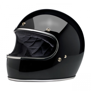 Biltwell Helmet Gringo - Gloss Black ECE