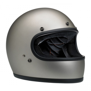Biltwell Helm Gringo - Matt Titanium ECE