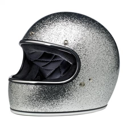 Biltwell Helmet Gringo - Brite Silver ECE