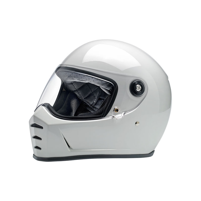 Biltwell Helmet Lane Splitter  - Gloss White ECE