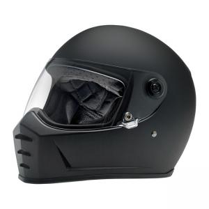 Biltwell Helmet Lane Splitter  - Flat Black ECE