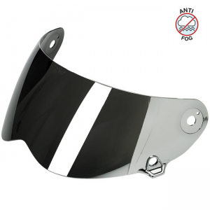 Biltwell Lane Splitter Visier - Chrome