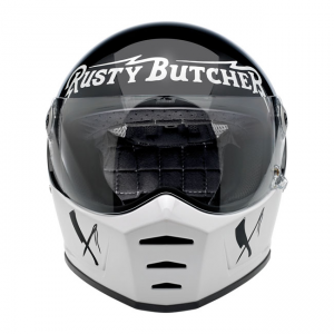Biltwell Helm Lane Splitter - Rusty Butcher ECE