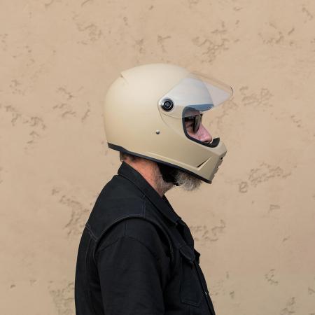 Biltwell Helm Lane Splitter - Matt Beige ECE