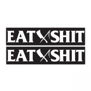Rusty Butcher Sticker - EAT SHIT Sportster Swingarm