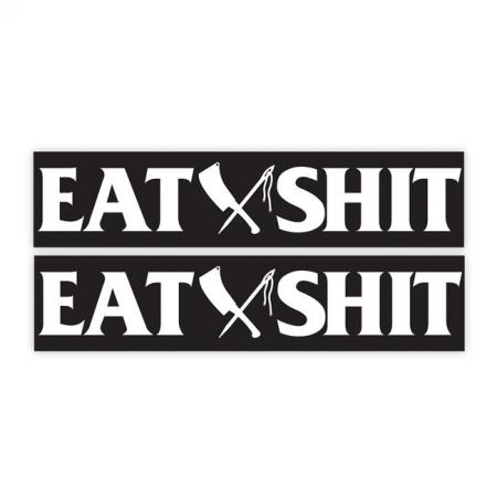 Rusty Butcher Aufkleber - EAT SHIT Sportster Schwinge