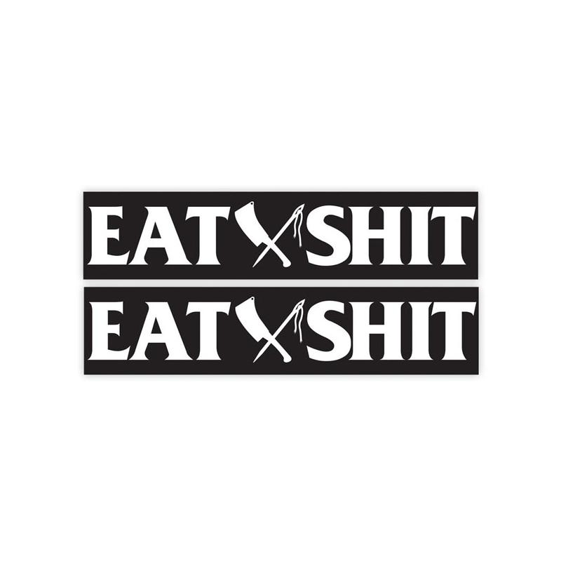 Rusty Butcher Aufkleber - EAT SHIT Dyna Schwinge