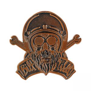 Biltwell Stecknadel - Skull
