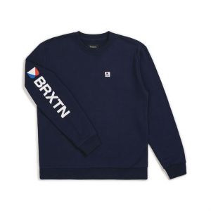 Brixton Sweater - Stowell Blau