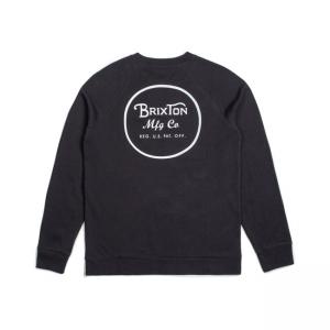Brixton Sweater - Wheeler Schwarz