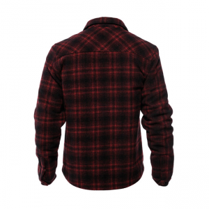 West Coast Choppers Jacke - Quilted Gang Rot/Schwarz