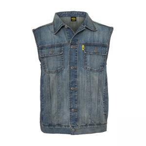 MCS Denim Vest - Blue with...