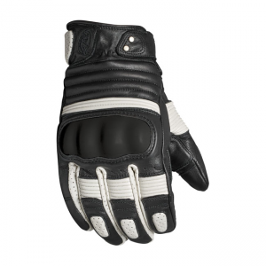 Roland Sands Design Gloves - Berlin Black White