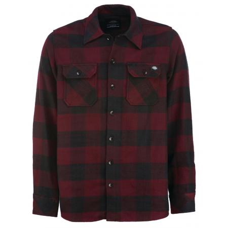 Dickies Shirt - Sacramento Maroon