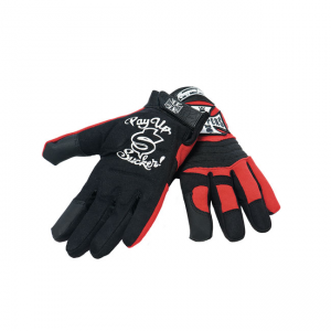 West Coast Choppers - Riding Gloves Red