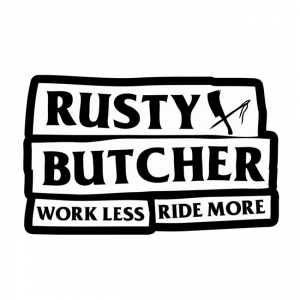 Rusty Butcher Aufkleber - Motto