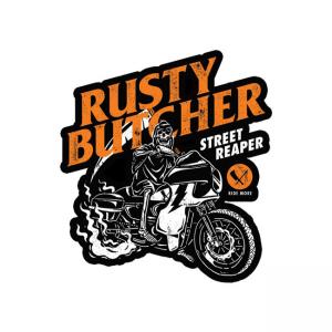Rusty Butcher Aufkleber - Street Reaper