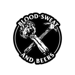 Rusty Butcher Aufkleber - Beers