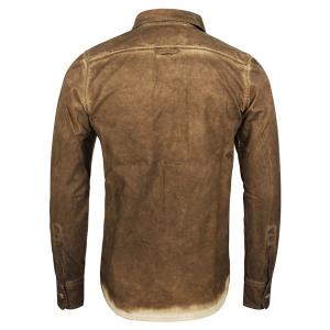 Rokker Hemd - Worker Shirt Braun