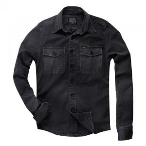 Rokker Hemd - Worker Shirt Schwarz