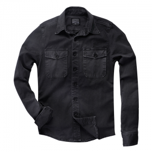 Rokker Shirt - Worker Shirt Black