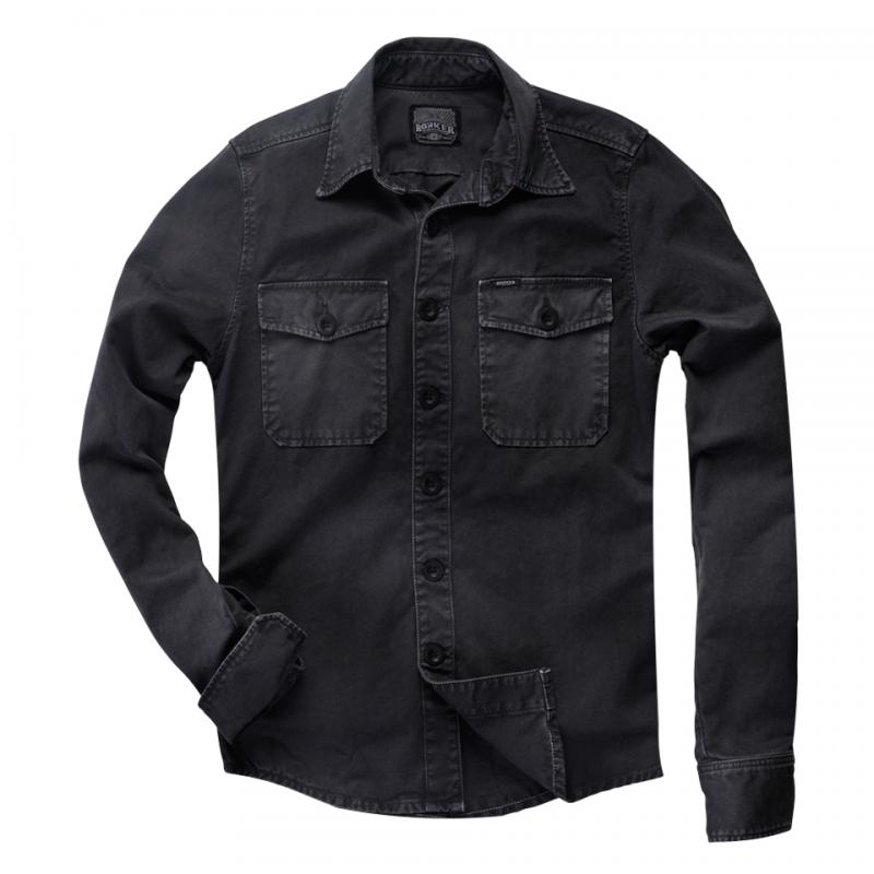 Rokker Shirt - Worker Shirt Black