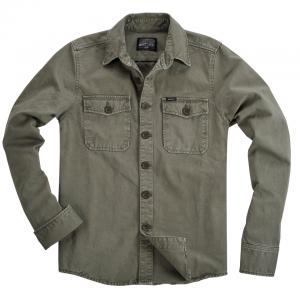 Rokker Shirt - Worker Shirt Green