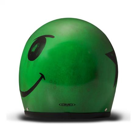 DMD Helm Vintage - Smile Carbon Grün mit ECE