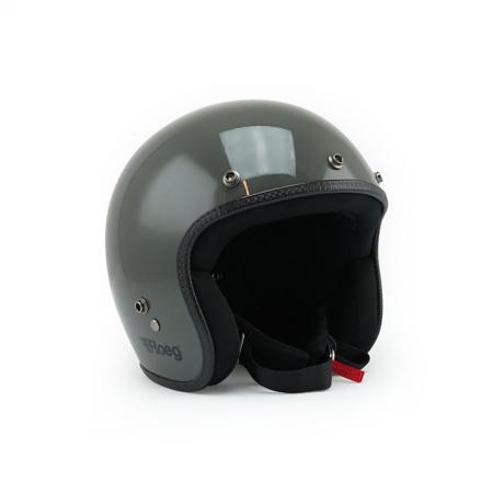 ROEG Helm Jett - Gloss Grey mit ECE