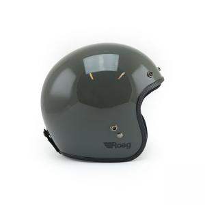 ROEG Helmet Jett - Gloss Grey with ECE