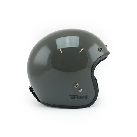 ROEG Helmet Jett - Gloss Grey with ECE