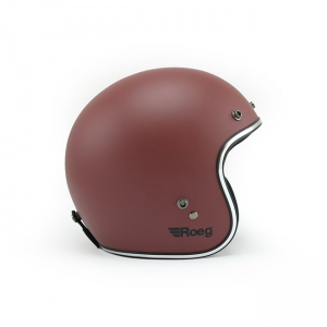 ROEG Helmet Jett - Matte Oxide Red with ECE