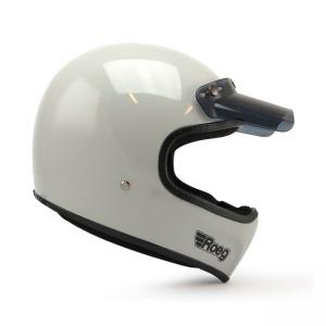 ROEG Helmet Peruna - Fog White with ECE
